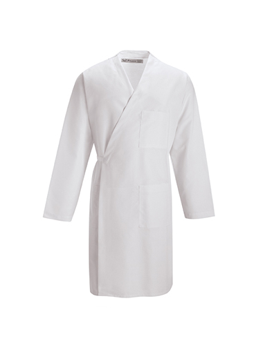 Long Sleeve Wrap Smock