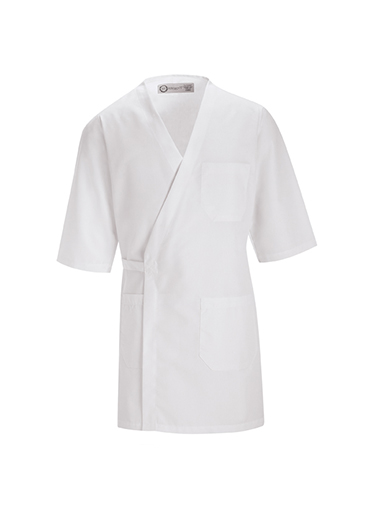 Three Quarter Sleeve Wrap Smock