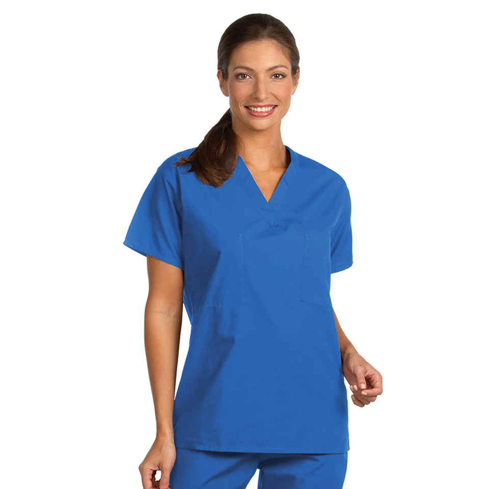 Unisex Reversible Set-in Sleeve Scrub Shirts